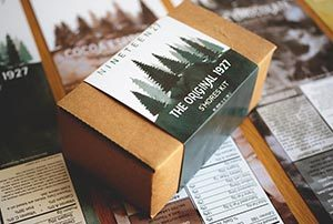 Example of printed packaging