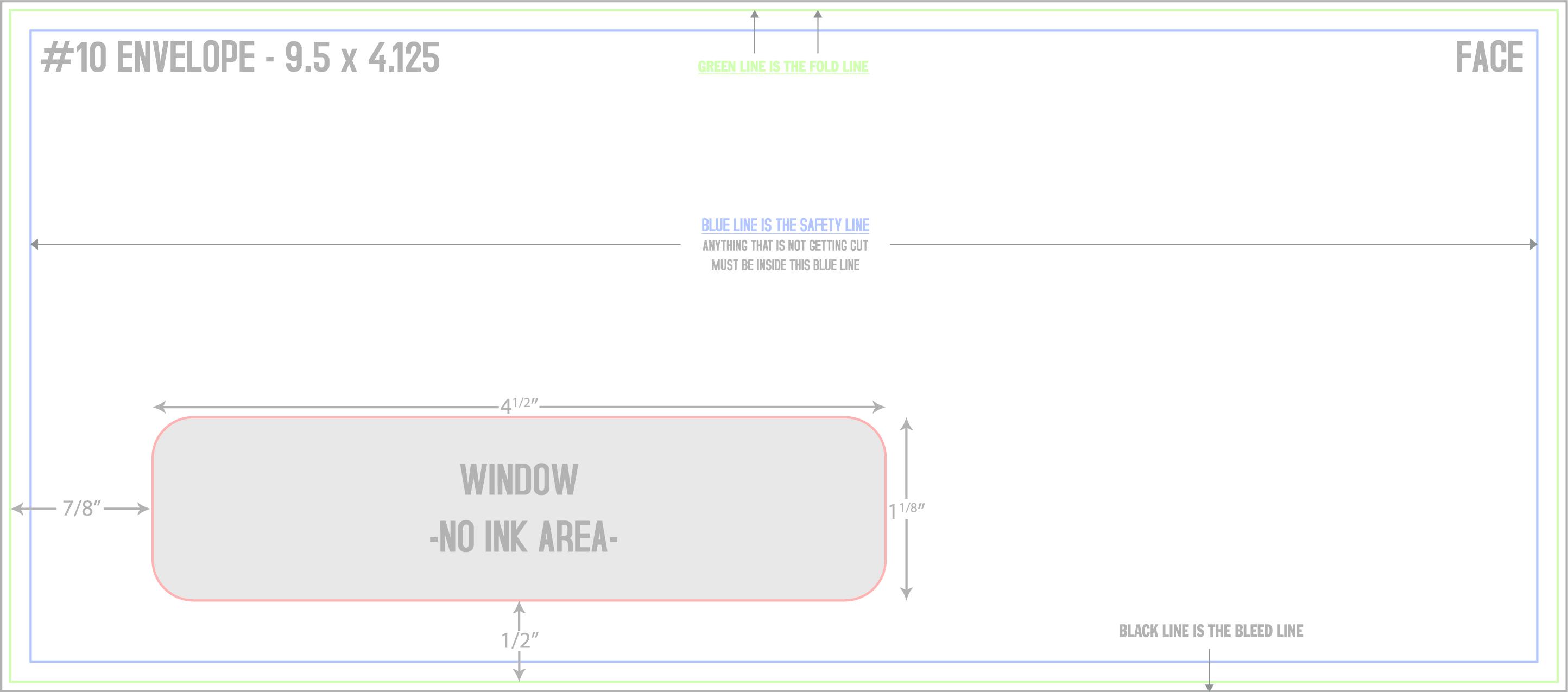 9 Window Envelope Template from www.eastsideprintco.com